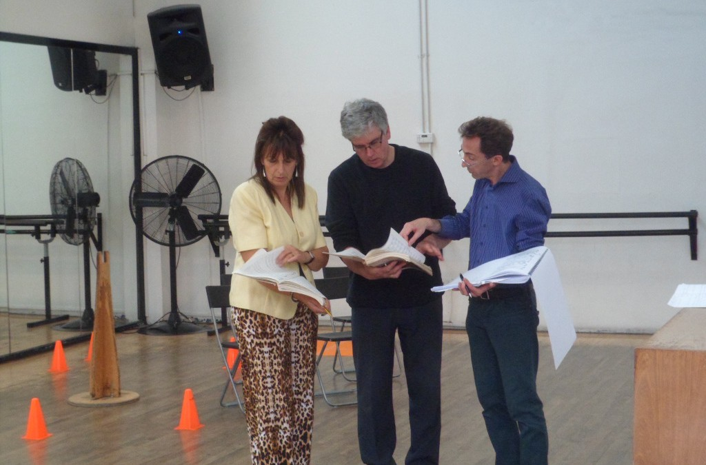 Opera production update – less than three weeks to go!